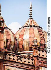Safdarjung's Tomb is a garden tomb in a marble mausoleum in...