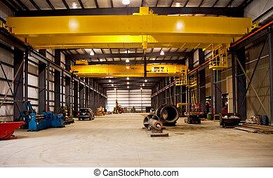 New Steel Factory Cranes - Overhead cranes in new steel...