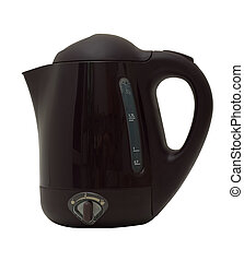Kettle - An electric kettle on a white background. No...