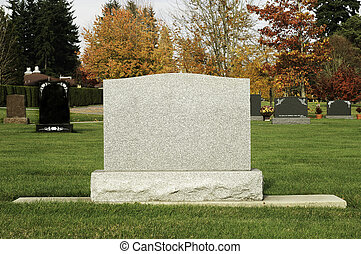 記號, 墳墓