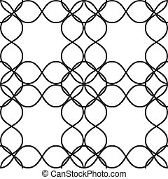 Fence of wire background element x4