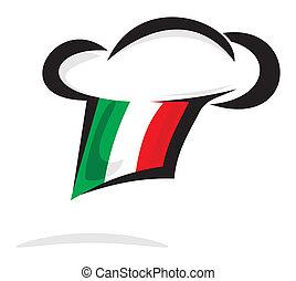 Italian chef hat