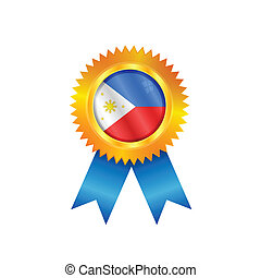 Philippines medal flag