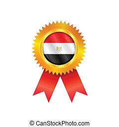 Egypt medal flag