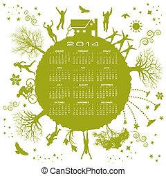 2014 Green Calendar