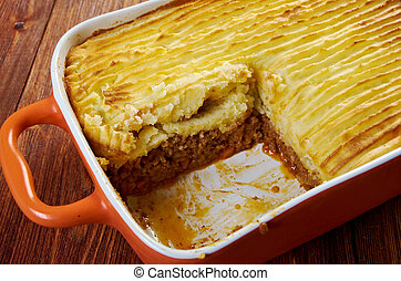 Shepherd's pie - delicious home made Shepherd's pie -...