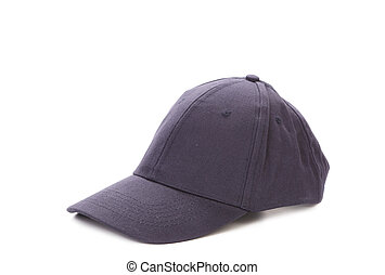 Working peaked cap Isolated on a white background