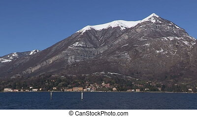 View of Como lake and mountains - View of Como lake and...