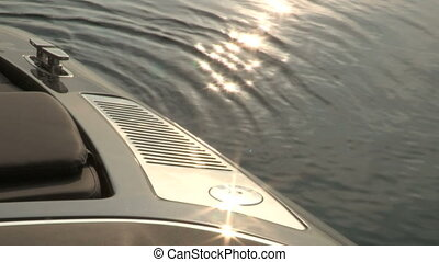 Chrome boat vent