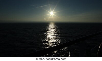 black sea sun - sunset over the sea