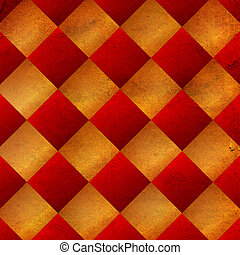 old paper texture with rhombus
