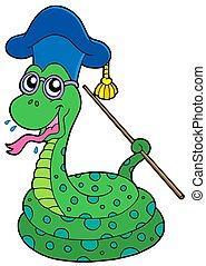 Snake teacher