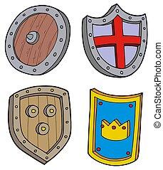 escudo, cobrança