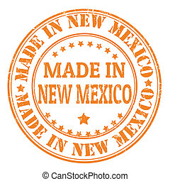 Made in New Mexico stamp