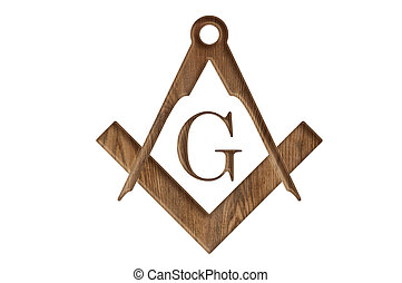 Freemason - Square and compass sign of free masons