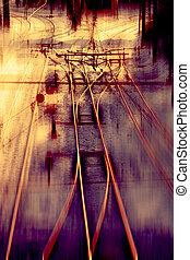 Railway track Junction