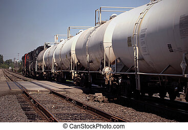 Railcars Detroit - Automotive railroad cars in Detroit area...