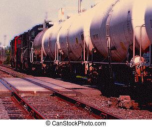 Railcars Detroit - Automotive railroad cars in Detroit area...