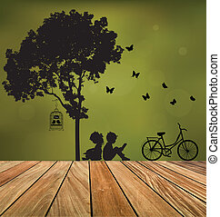 Vector Decorative Wall Stickers For Your Houses Interiors...