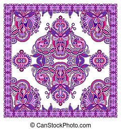 Ornamental Floral Paisley Bandana
