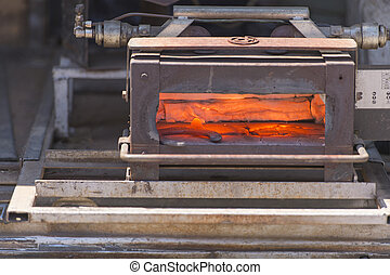 blast furnace from the field - Blast furnace the field for...