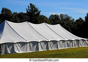 giant tent - giant white entertainment tent