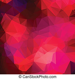 Pink purple abstract background polygon.