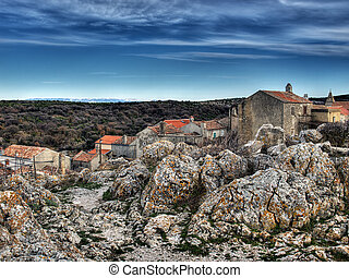 "Adriatic village \""Lubenice\"" - Lubenice,island Cres...."
