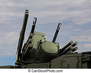 Weapons of anti-aircraft defense quot;Pantsir-S1quot; -...