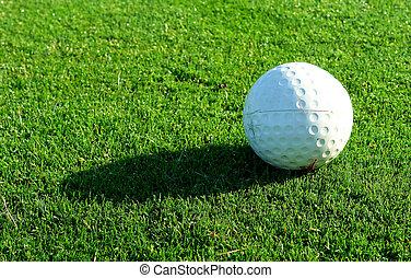Golf bal tee marker - Golf ball shape tee marker