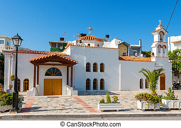 Afendis Christos church Ierapetra, Crete, Greece - Church of...