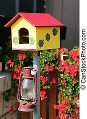 Birdhouse - Colorful birdhouse