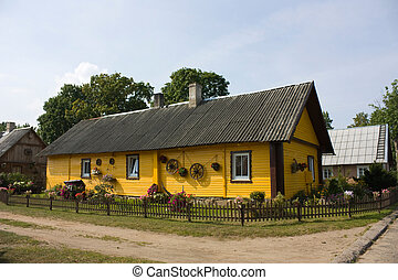 Lithuanian village house
