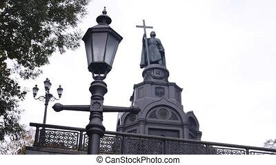 monument St Vladimir - monument to St Vladimir in Kyiv,...