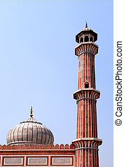 Jama Masjid Mosque, old Delhi, India