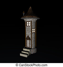 Fantasy Tower background