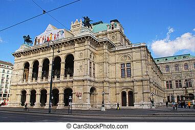 Vienna State Opera, Austria - Vienna, Austria - October 16,...