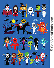 Monsters Mash Halloween Characters - Monsters Mash Halloween...