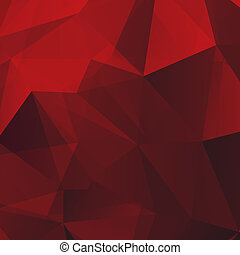 Abstract Red Background - Abstract Red Triangle Geometrical...