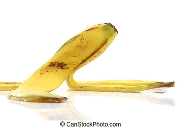 detail banana peel - deatil from peel of banana with...