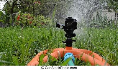 plastic water sprayer - Plastic automatic water sprinkler...