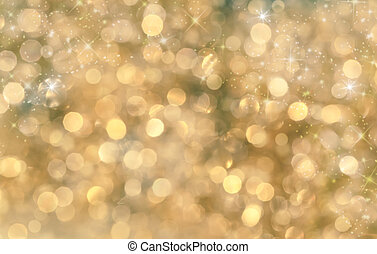 Festive background. Christmas and New Year feast bokeh...