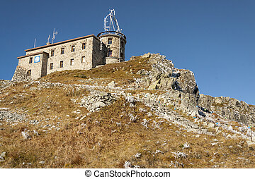 Meteorological observatory on Kasprowy Wierch - Tatras -...