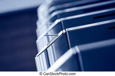 Turnstile gate - Modern metallic turnstile gate, entrance of...