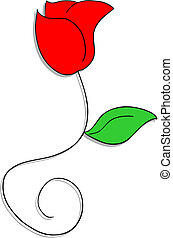 Rose flowers - Creative design of rose flowers