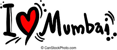 Mumbai love - Creative design of mumbai love