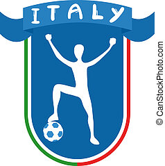 Italy soccer - Creative design of Italy soccer
