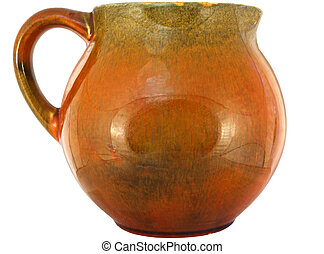 brown clay antiqueing pot - Terracotta brown clay antiqueing...