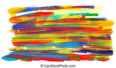 Abstract acrylic colors - Abstract acrylic hand painted...