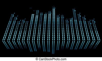 Screen of equipment used to achieve equalization -...